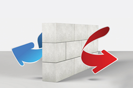 شرکت فرآورده های ساختمانی آذر ساروج سبلان | بلوک سبک اتوکلاو شده و ملات خشک | ویژگی های بلوک سبک اتوکلاو شده | عایق حرارتی فوق العاده