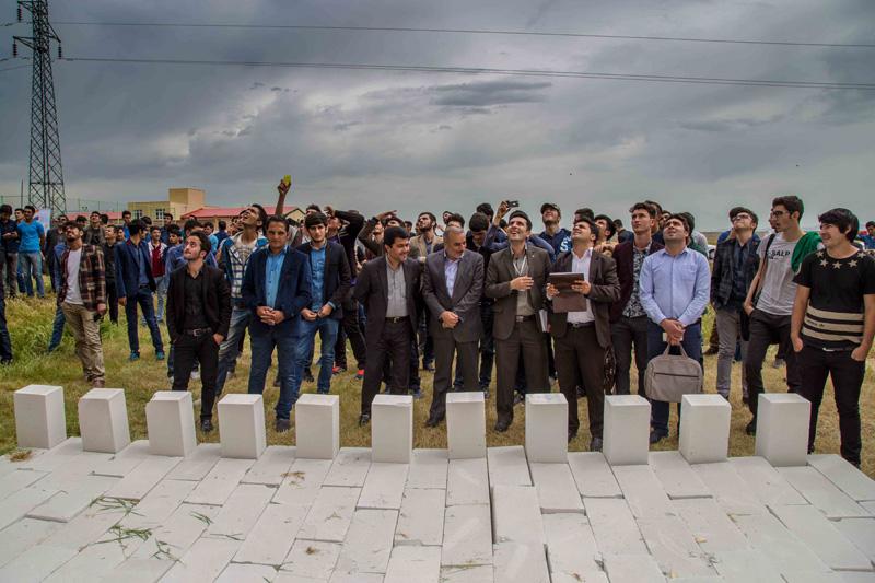 آذر ساروج سبلان | گردهمایی دانشجویان معماری دانشگاه های اردبیل و فارغ التحصیلان معماری آموزشکده رازی اردبیل | اردیبهشت 95